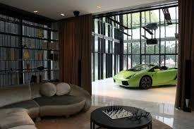 garage inside with car. Photo Living-room-inside-the-modern-garage-idea_zps81360530.jpg Garage Inside With Car