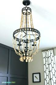 chandelier wood beam chandelier wood chandelier wood bead chandelier to make it wooden beam
