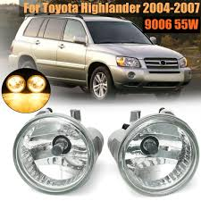 2006 Toyota Highlander Fog Light Kit Us 11 59 37 Off Pair Left And Right Front Clear Bumper Driving Fog Lights For Toyota Highlander 2004 2005 2006 2007 In Signal Lamp From Automobiles