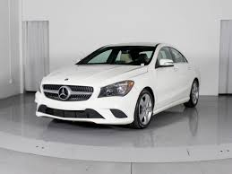 What will be your next ride? Used 2015 Mercedes Benz Cla Class Cla250 Sedan For Sale In Miami Fl 103640 Florida Fine Cars