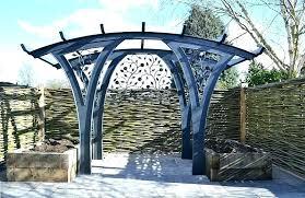 metal garden arches metal arch garden metal garden arches garden shelter in steel contemporary pergola garden metal garden arches