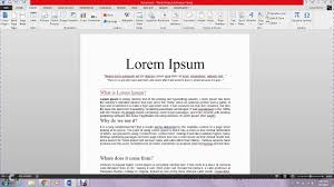 Bookmark And Cross Reference Ms Word