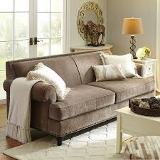 E Tan Carmen Sofa  Taupe Polyester Home Decor Furniture Ideas