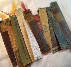 awesome recycled book spine page markers paint stir sticks l shade projects crafts