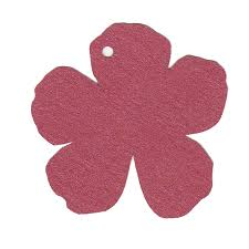 Flower Shaped Paper Punches Paper Tags Shapes Cards Pockets
