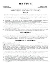 Certified Safety Professional Resume Resume Directory