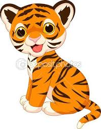 cute animated baby tigers. Beautiful Baby Cute Baby Tiger Cartoon U2014 Stock Illustration 27382693 On Animated Baby Tigers I