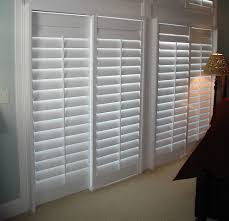 bypass track shutters sliding glass door shutters plantation shutters for sliding glass doors cost bypass