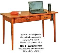 shaker style desk cottage