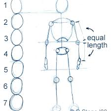 In one of the previous instructions, the team of drawingforall.net described how to draw a male anime figure, and now we will show you how to draw a female anime figure. How To Draw A Basic Manga Character Body Proportions