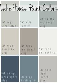 best paint colorsLake House Paint Colors  House paint colors Color pallets and
