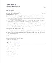 Tv Production Resume Examples Film Resume Examples Tester Resume Sample Testing Resume