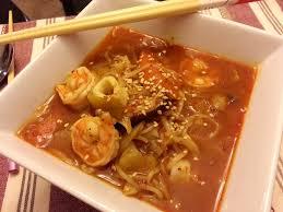 Seafood Stew noodle soup - Maangchi ...