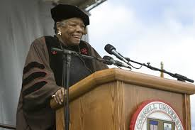 graduation by a angelou christ university notes about the author a angelou