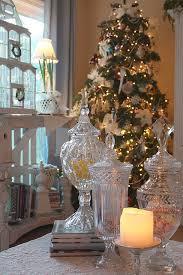 Apothecary Jars Christmas Decorations Sally Lee by the Sea Coastal Lifestyle Blog Coastal Christmas 87