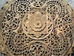 teak  on teak wall art panels with fancy commercial teak wood panels with high quality thai carved wall