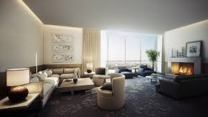 Window Design Living Room Spacious Modern Living Room Interiors