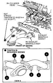 2000 ford taurus belt diagram unique 03 ford taurus belt diagram best solved exhaust manifold repair
