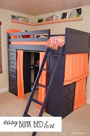 cool bunk bed fort. I Love How She Turned An Annoying Bunk Bed Into A Fun Fort For Cool K