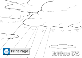 From henceforth thou shalt catch men. Jesus Transfiguration Coloring Pages Free Printable Pdfs Connectus