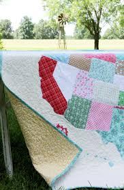 free tutorial = US Map Quilt at Flamingo Toes | Riley Blake ... & free tutorial = US Map Quilt at Flamingo Toes Adamdwight.com