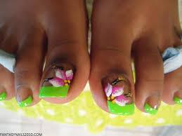 pedicure nail art ideas | View Source | More Airbrush Fantasy Art ...