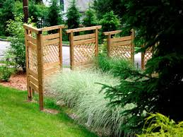 build a privacy wall with fence panels