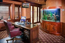 executive home office ideas. executive home office with aquarium wall traditional new yorku2026 ideas h