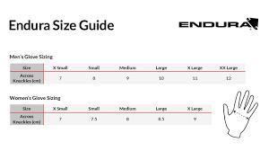 Endura Hummvee Size Chart Endura Womens Strike Ii Waterproof Gloves Ideal For Cycling Or Running