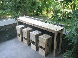 outdoor pallet furniture pallet wine bar diy pallet outdoor furniture