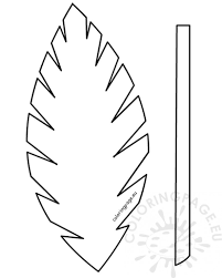 Easter Template Easter Template Palm Leaf Palm Sunday School Lesson