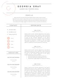 Template Resume Template 3 Page Cv By Thetemplatedepot On Business