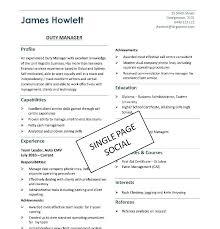 Example Resume Format Proper Resume Job Format Examples Data Sample ...