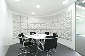 office workspace exciting and fresh for meeting room with white round table black set chair small