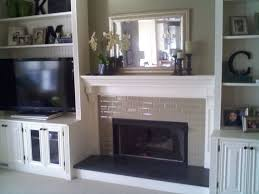 custom trimwork and painting fireplace mantels built in cabinets fireplace ideas painting firepla