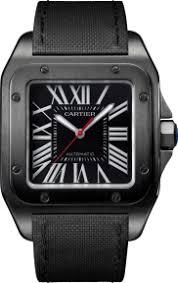 santos de cartier santos 100 carbon watch