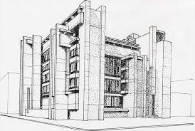 architectural building sketches. Modern Architecture Building Design Sketch Architectural Sketches R