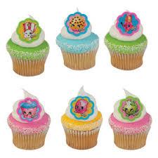 Shopkins Cupcake Rings 6pkg