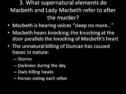 macbeth act ii might banquo suspect that macbeth is up to foul  what supernatural elements do macbeth and lady macbeth refer to after the murder