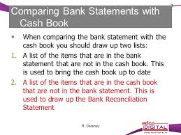 Bank Statements Impressive CHAPTER 48 BANK STATEMENTS IE UPDATING THE CASH BOOK AND BANK