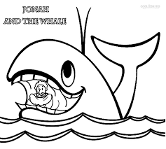 Printable Jonah And The Whale Coloring Pages For Kids Cool2bkids