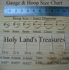Nose Ring Gauge Chart Septum Ring Mm Chart Bedowntowndaytona Com