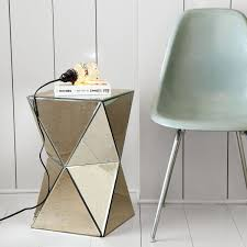 mirror side table. image of: mirror side tables table t