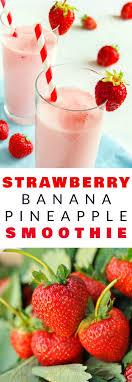 Best 20 Strawberry banana smoothie ideas on Pinterest