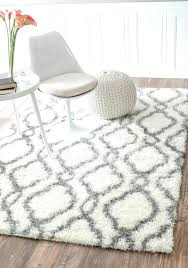 grey gy rug awesome area rugs astounding gray and white fluffy argos