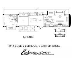 17 best images about rving double bedroom the road continental coach 43 double bedroom floorplans