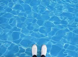pool ii water effect vinyl flooring blue feet