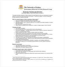outline templates for research papers 8 research paper outline templates free sample example