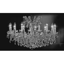 swarovski crystal lighting. Fine Lighting Swarovski Crystal Trimmed Maria Theresa Chandelier Lighting  Chandeliers  Silver To Y