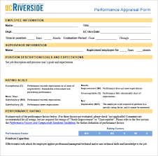 Performance Appraisal Form Format Unique Business Appraisal Template Sample Performance Appraisal Format